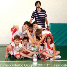 2007 Torneo di Viterbo 1° classificati annata 1997-1998