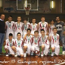 2011 – Final 4  under 13 – 1° classificato – campioni regionali