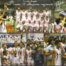 2011 – Final 4 under 13 -05-06 Giugno. 1°classificato