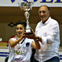 2012 –  2-3 Giugno -final 4 – 1° Classificato under 14 stagione 2011-2012