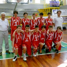 2012 – 1° Memorial Mario Angeli Coarelli -basket Todi under 14- 16 Giugno