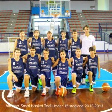 2012-2013 Almasa-Smal basket Todi under 15