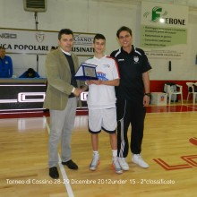 2012 Torneo di Cassino – Almasa basket Todi 2°classificato