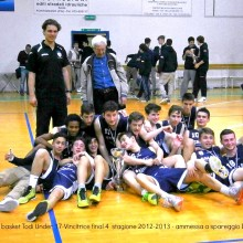 2013. 15-16Aprile-Almasa basket Todi under 17.Vincitrice final 4.