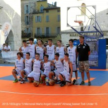 2013-15Giugno. Almasa basket Todi Under 15 – II°Memorial Mario Angeli Coarelli""