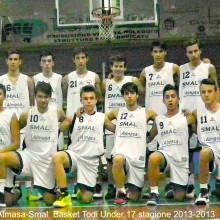 2013-2014 Almasa-Smal basket Todi Under 17