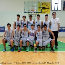 2014 – Under 17 final 4 . 4a Classificata 09-10 Aprile