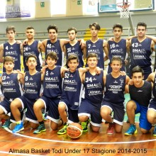 Almasa Basket Todi. Under 17 . stagione 2014-2015