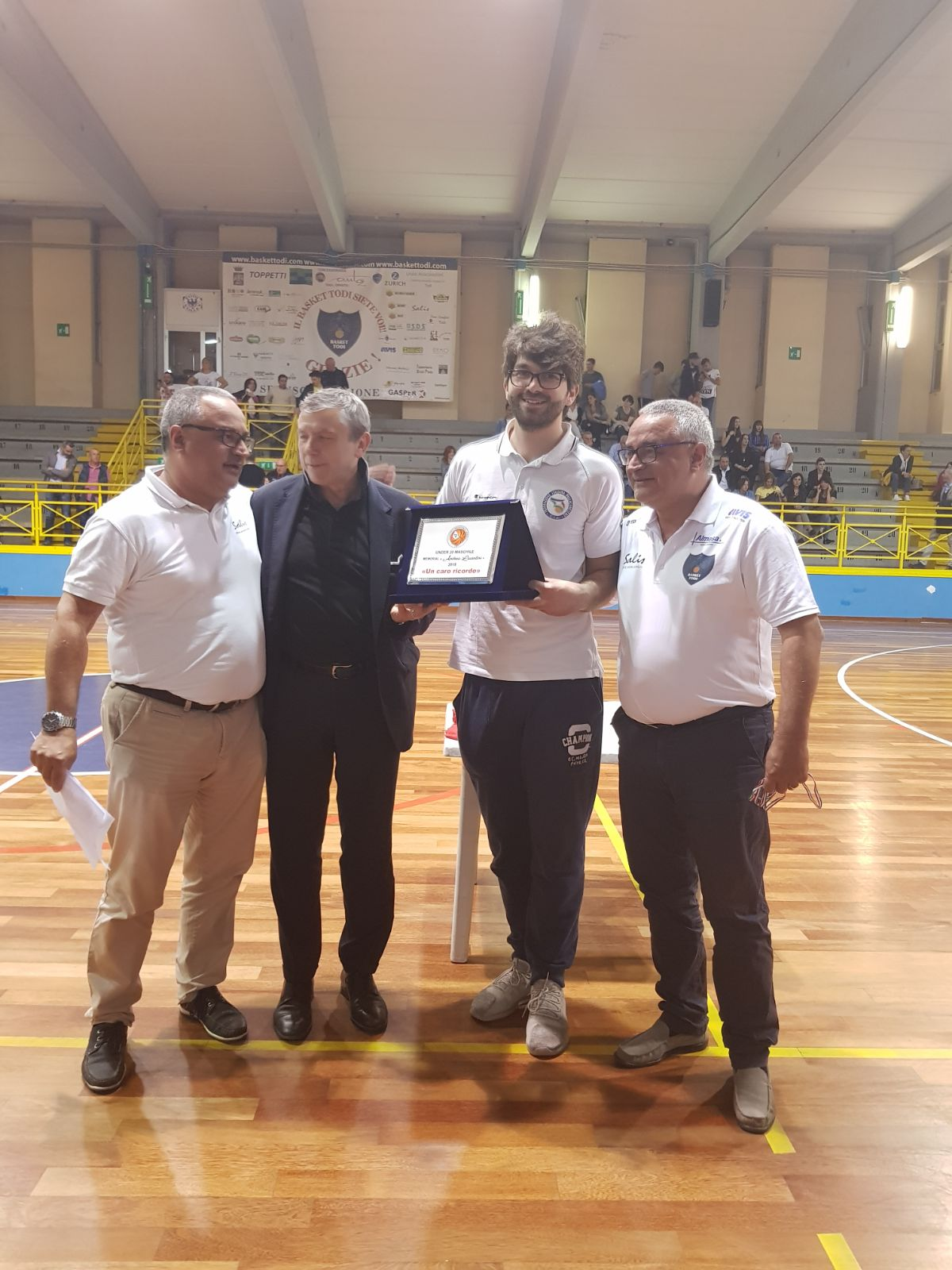 F.Four U.20. 1a Classificata Liomatic Basket Perugia