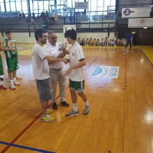 31-05-18 .VII Memorial Mario Angeli Coarelli 1°Classificato cat.U.15 .Lorenzo Bindocci -Pontevecchio Basket