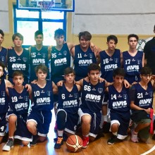 2018-2019 Avis Basket Todi Under 16.